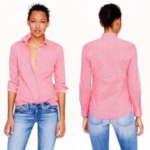 J. Crew Women Perfect Shirt in Floral Foulard